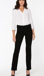 NYDJ Marilyn Straight Jeans black New!